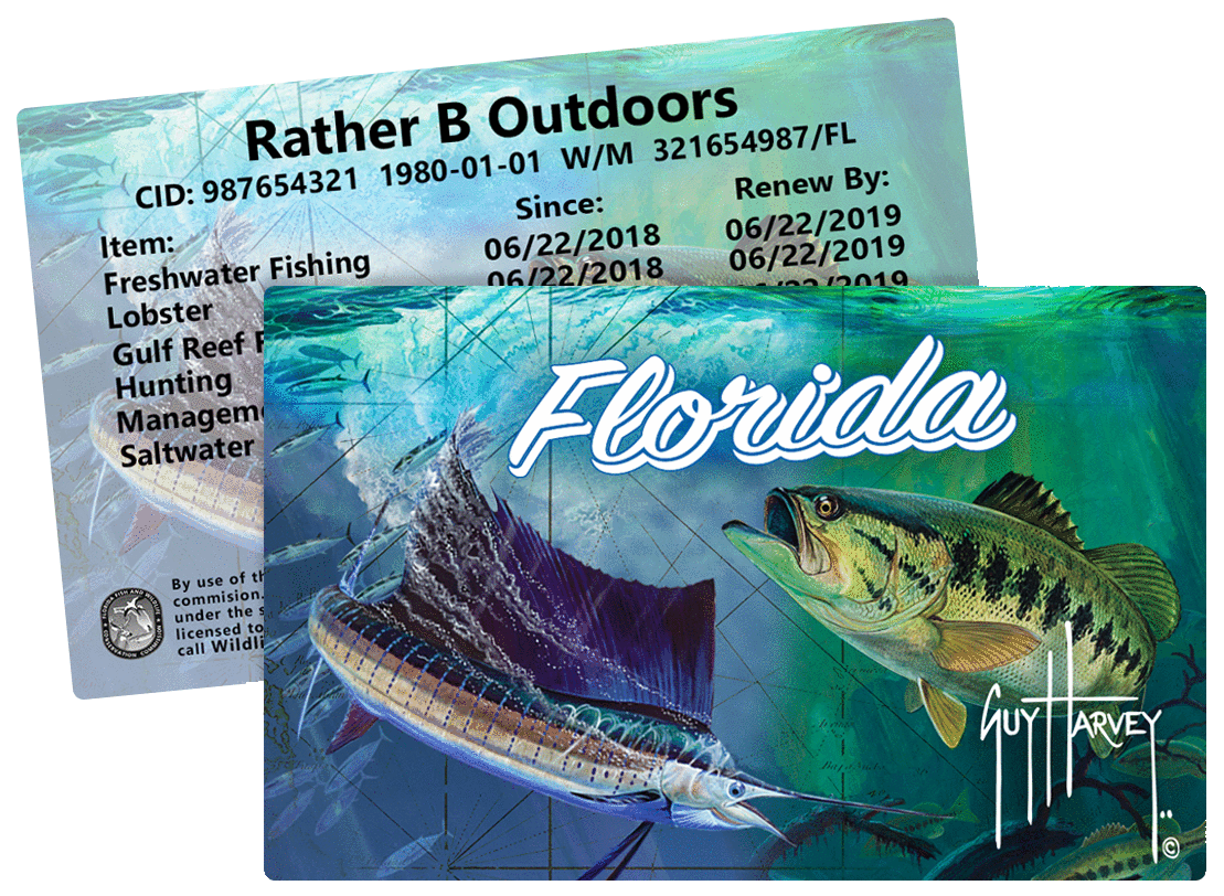 Fish hunt fl licenses online for Renew fishing license